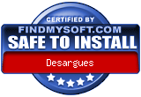 FindMySoft certifies that  Desargues is SAFE TO INSTALL and does not contain any adware, spyware or viruses that might harm your computer or steal your information