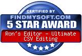 Rons CSV Editor - Ultimate CSV Editor