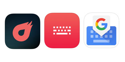 3 iOS Keyboard Apps Created by Apple's Rivals, Microsoft and