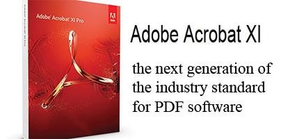 adobe acrobat xi break up pdf