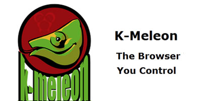 » K-Meleon: A Browser You Should Know About K Meleon Browser Logo