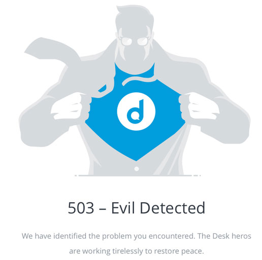 how to fix error 503 service unavailable