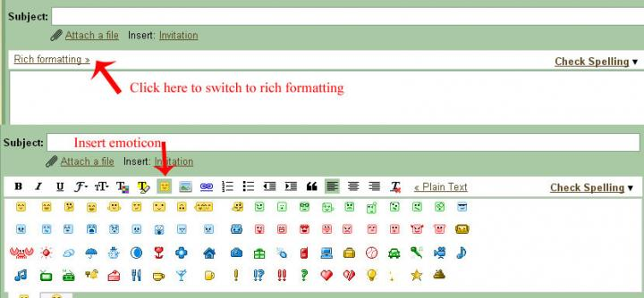 Because the Gmail team felt the initial emoticons were not enough,