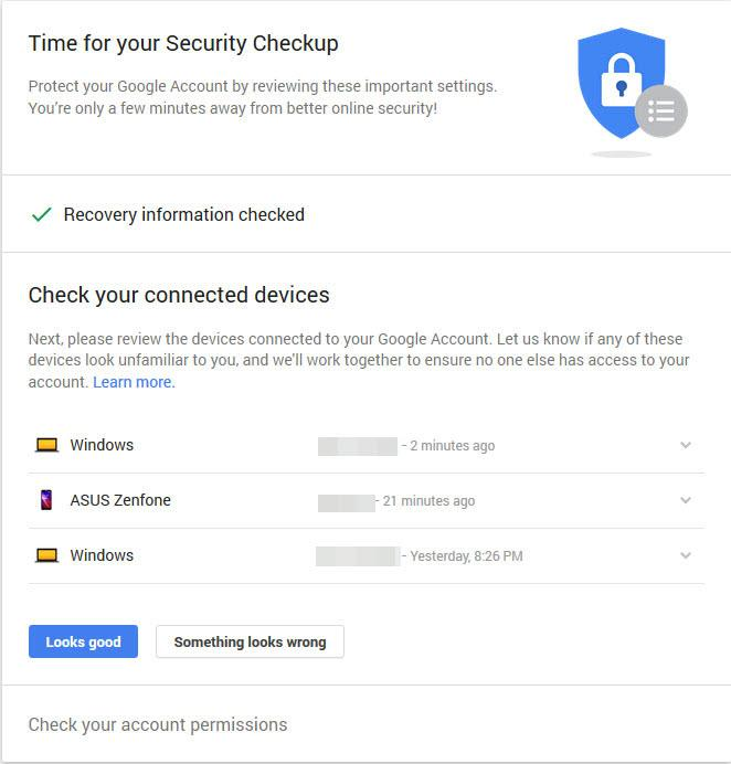 Complete a Quick Security Checkup, Get 2GB of Free Google Drive Space