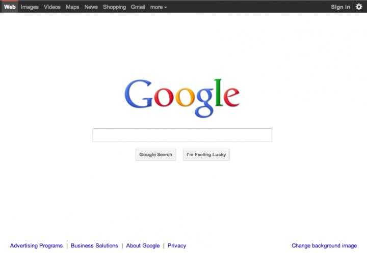 The driving principles behind google 39 s homepage redesign - Google home design ...