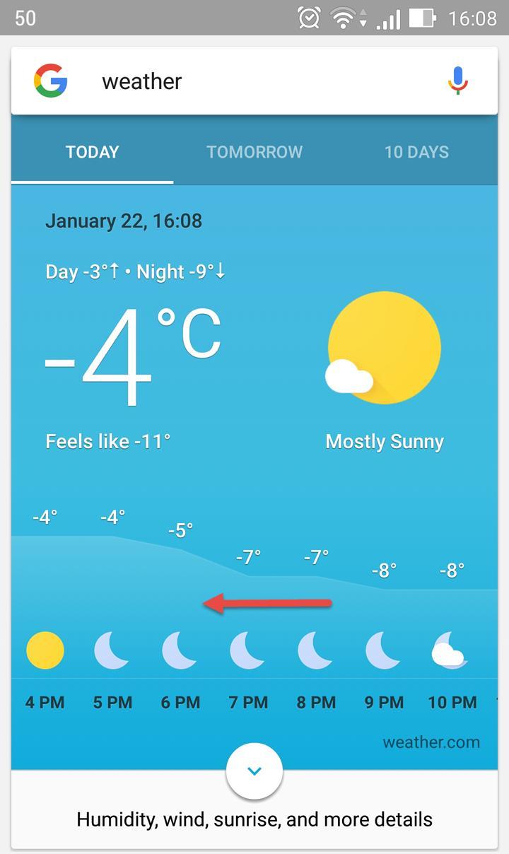 3 Dumb Reasons Why I Love Google's New Weather Card