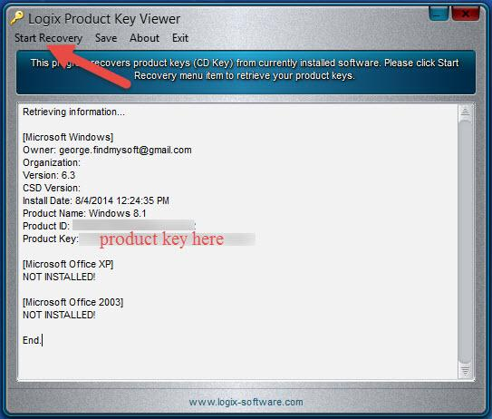 » 10 Free Tools to Reveal the Windows Product Key