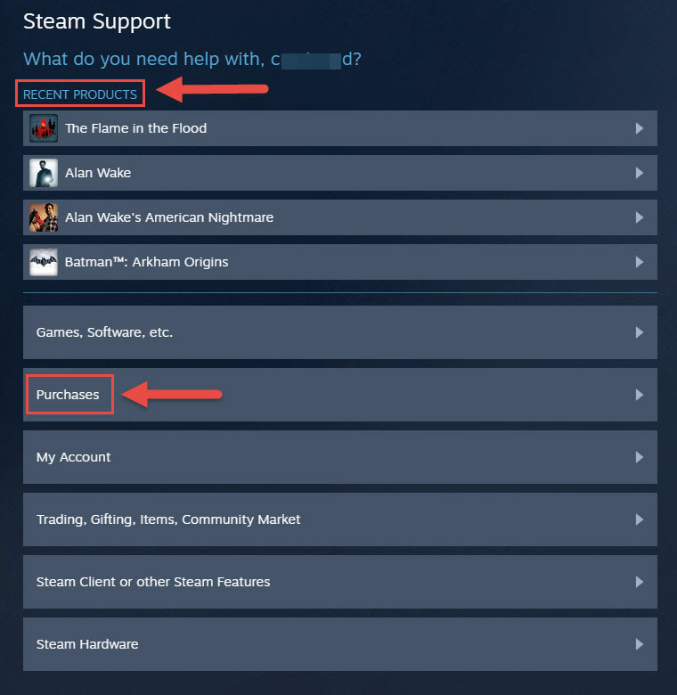 can you get a refund on steam purchases