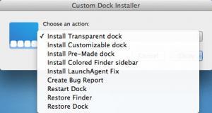 Enlarge cDock Screenshot