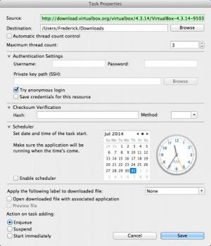 Enlarge Progressive Downloader Screenshot