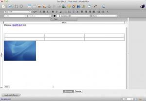 Enlarge BlueGriffon Screenshot