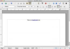 Enlarge NeoOffice Screenshot