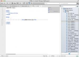 Enlarge Komodo Edit Screenshot