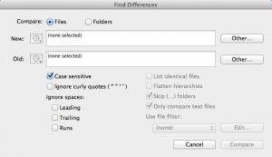 Enlarge TextWrangler Screenshot