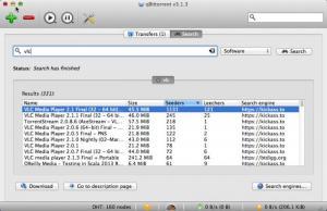 Enlarge qBittorrent Screenshot