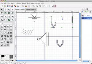 Enlarge Dia Diagram Editor Screenshot