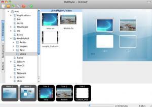 Enlarge DVDStyler Screenshot