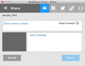 Enlarge RealPlayer Cloud Screenshot
