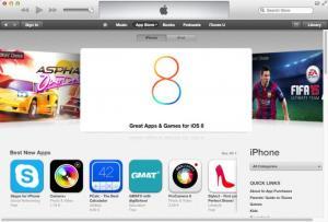 Enlarge iTunes Screenshot