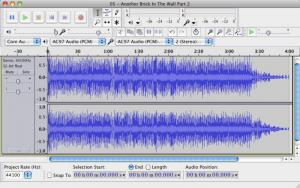 Enlarge Audacity Screenshot