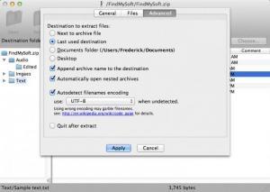 Enlarge Zipeg Screenshot