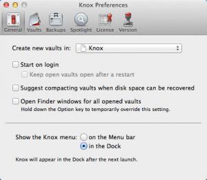 Enlarge Knox Screenshot