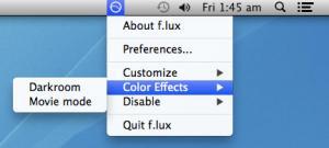 Enlarge f.lux Screenshot