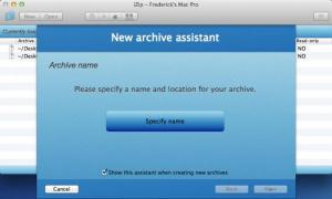 Enlarge iZip Screenshot