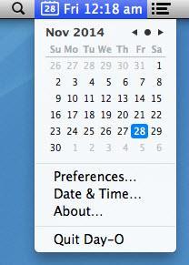 Enlarge Day-O Screenshot