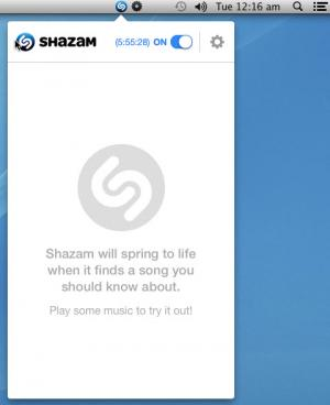 Enlarge Shazam Screenshot