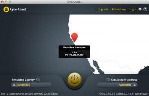 Enlarge CyberGhost Screenshot