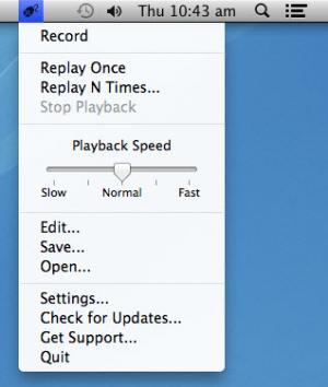 Enlarge Mac Mouse Recorder Screenshot