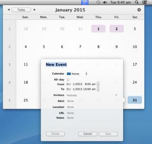 Enlarge popCalendar Screenshot