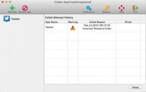 Enlarge AppCrypt Screenshot