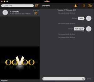 Enlarge ooVoo Screenshot