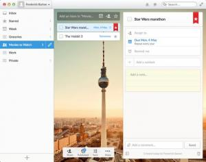 Enlarge Wunderlist Screenshot