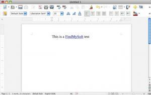 Enlarge LibreOffice Screenshot