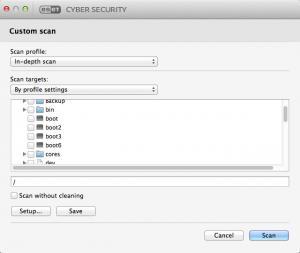 Enlarge ESET Cyber Security Screenshot