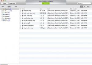 Enlarge Mac Free Data Recovery Screenshot