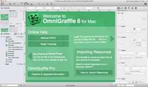 Enlarge OmniGraffle Screenshot