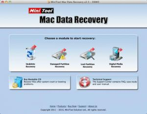 Enlarge MiniTool MAC Power Data Recovery Screenshot
