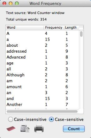 Enlarge Word Counter Screenshot