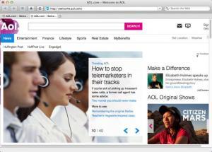 Enlarge AOL Desktop Screenshot