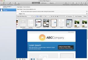 Enlarge Direct Mail Screenshot