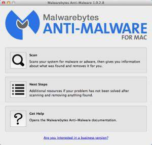 Enlarge Malwarebytes Anti-Malware Screenshot
