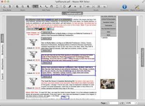 Enlarge Master PDF Editor Screenshot