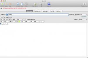 Enlarge MaxBulk Mailer Screenshot