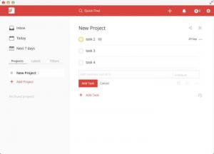 Enlarge Todoist Screenshot