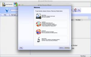 Enlarge Lazesoft Mac Data Recovery Screenshot