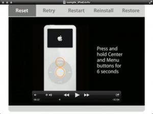 Enlarge QuickTime Player Screenshot
